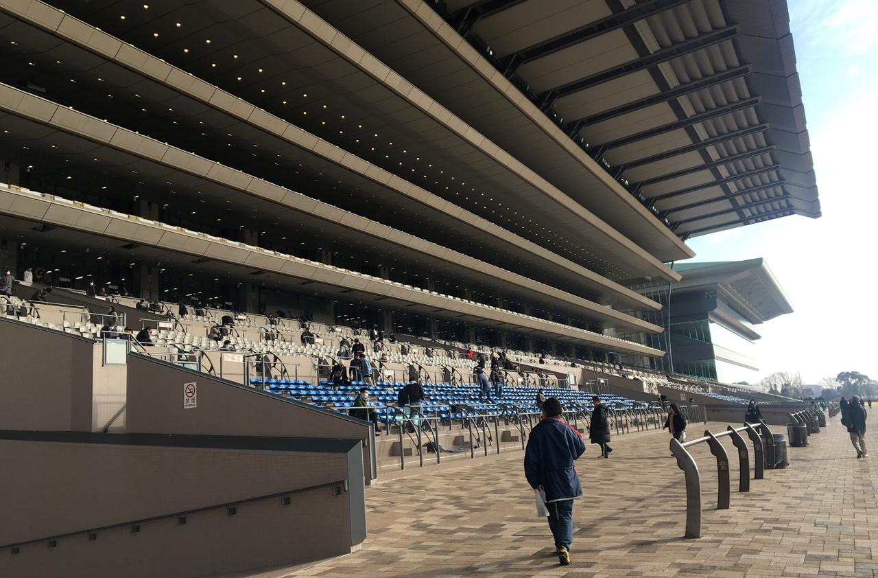 東京競馬場の座席数